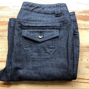 a.n.a Trouser Flare Button Back Pockets 12